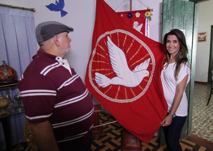 Cidade de Amarante tem forte devoção ao Divino (Foto: Gshow/Rede Clube)