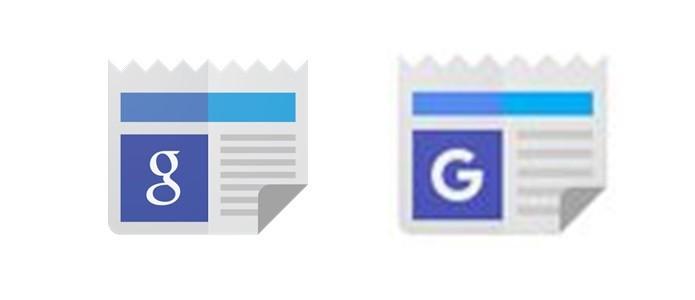 Google News também ganha o novo G (Foto: Reprodução/Gabriel Ribeiro)