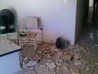 Parte de teto cai sobre recepcionista no Conselho Tutelar do Cabo, PE