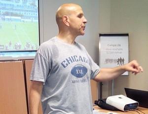 Jeff Hand, novo técnico do Rio Branco Futebol Americano (Foto: Arquivo Pessoal)