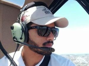 Piloto de 23 anos morreu em acidente aéreo (Foto: Arquivo Pessoal)