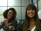 Dani Suzuki descobre talentos da voz nos bastidores do The Voice Brasil