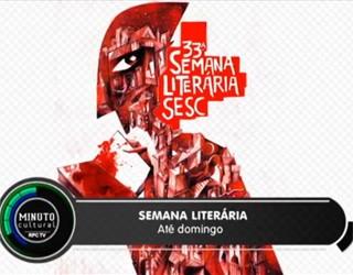 Minuto Cultural CWB - Semana Literária do Paraná (Foto: Reprodução/RPC TV)