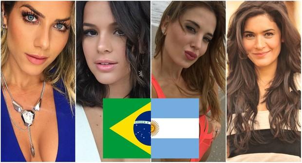 Giovanna Ewbank, Bruna Marquezine, Jesica Cirio e Mariana Anghileri (Foto: Reprodução/Instagram)