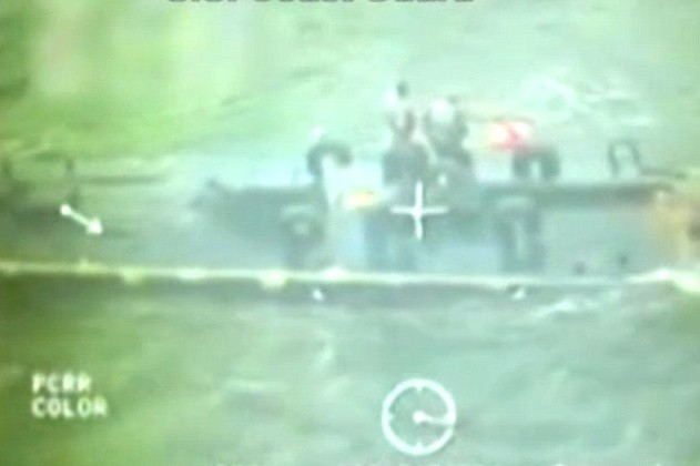Submarino tenta entrar no Texas com grande carregamento de cocaína