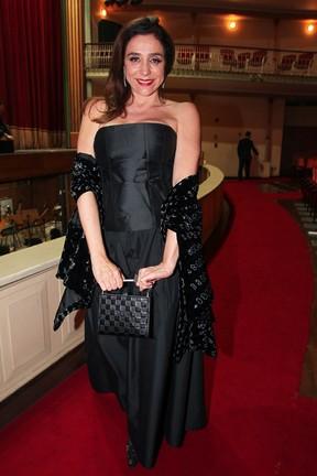 Marisa Orth em prêmio de teatro em São Paulo (Foto: Manuela Scarpa/ Foto Rio News)