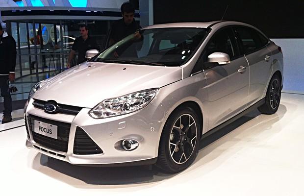 Novo Ford Focus fabricado na Argentina é revelado no Salão de Buenos Aires (Foto: Ricardo Sant'Anna/Autoesporte)