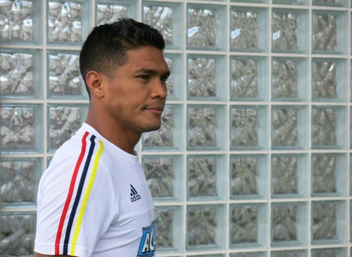 Téo Gutiérrez, atacante da Colômbia (Foto: Daniel Mundim)