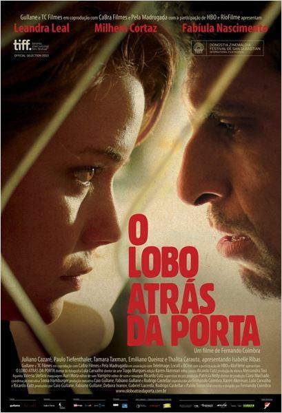Cartaz do filme 'O Lobo Atrás da Porta' (Foto: divulgação)