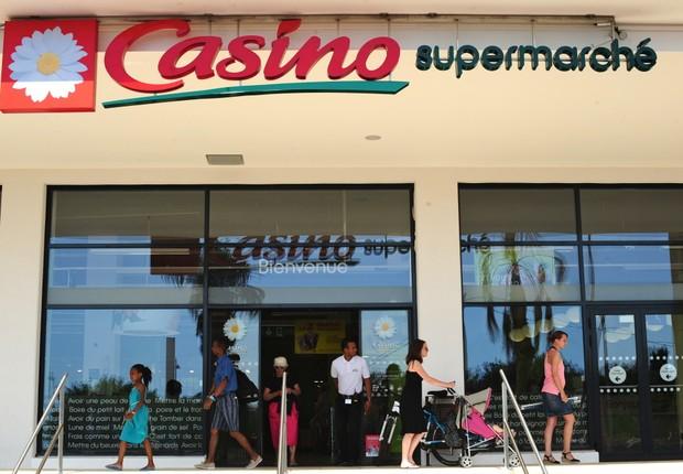 Supermercado do grupo Casino na França (Foto: Reprodução/Facebook)