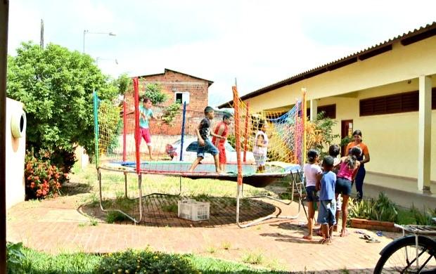 Bairro Bahia Nova recebe 5ª edição do projeto Acre TV nas Férias e conta com serviços de saúde e recreação (Foto: Acre TV)
