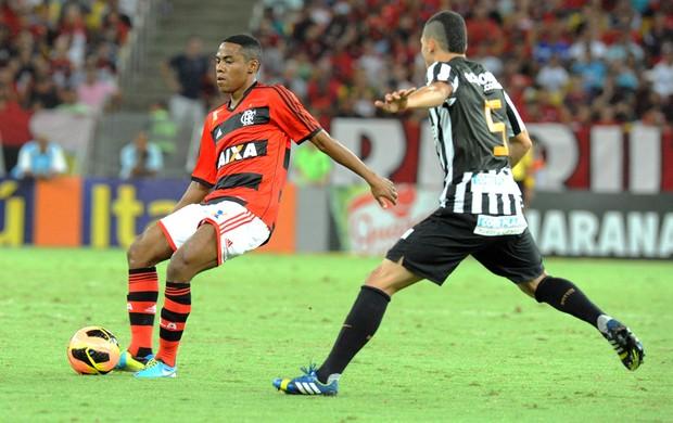 Elias Flamengo e Santos (Foto: Alexandre Vidal / Fla Imagem)