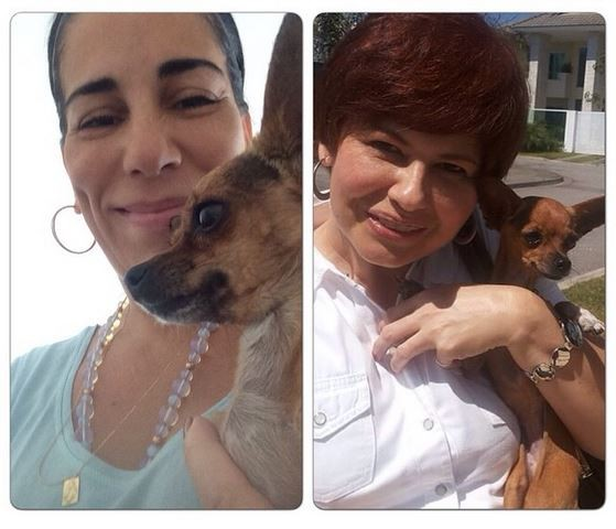 Narjara Turetta e Gloria Pires (Foto: Reprodução do Instagram)