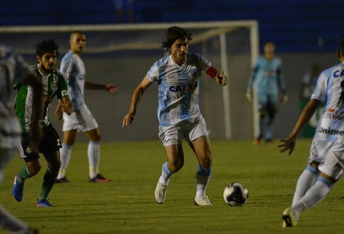 Germano Londrina Coritiba (Foto: Gustavo Oliveira/Londrina Esporte Clube)