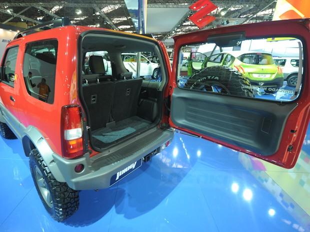 23 de outubro - Traseira do Jimny da Suzuki (Foto: Flavio Moraes/G1)