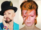 Boy George presta homenagem a David Bowie: 'Achava que era imortal'