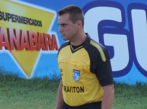 Eduardo Guimarães foi o árbitro principal do polêmico Vasco x Flamengo (Foto: Jenny Faulstich/PMR)