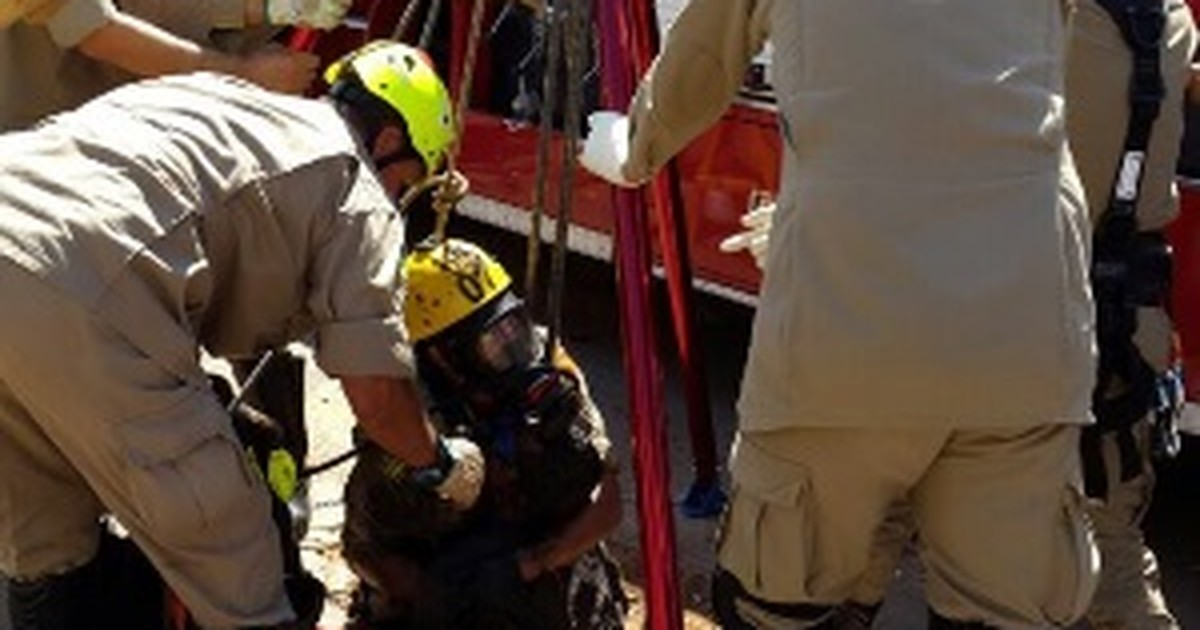 Dois trabalhadores morrem em GO após desmaiarem em galeria ... - Globo.com
