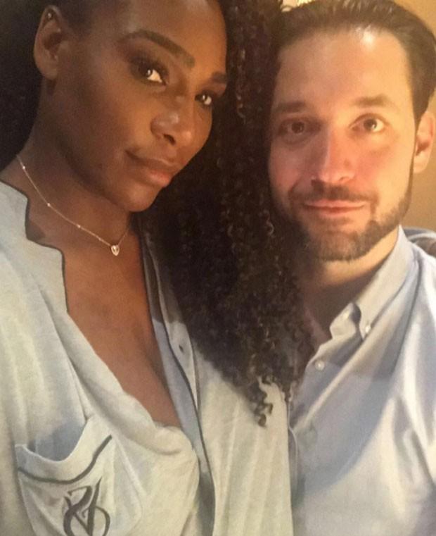 Serena Williams e noivo, Alexis (Foto: Reprodução)