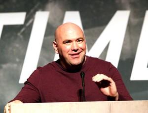 Dana White, Coletiva UFC (Foto: Evelyn Rodrigues)