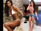 Veja o antes e depois dos famosos saradões que estarão no Arnold Classic Brasil