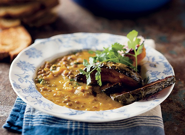 Sopa de abóbora com curry  (Foto: Great Stock! / StockFood)
