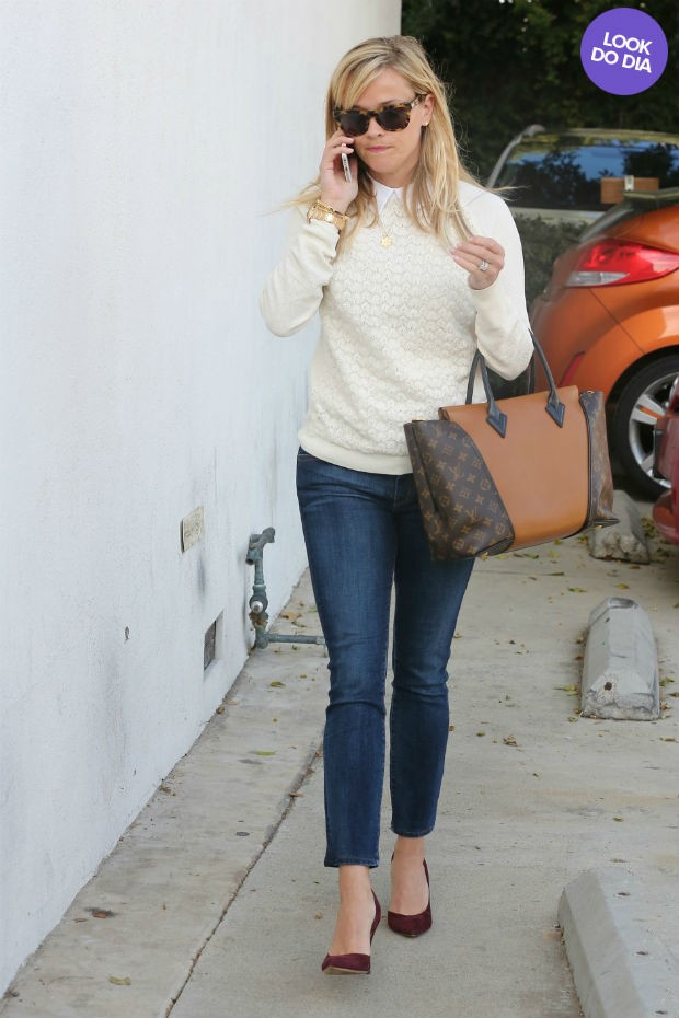 Look do dia: Reese Witherspoon  (Foto: AKM)