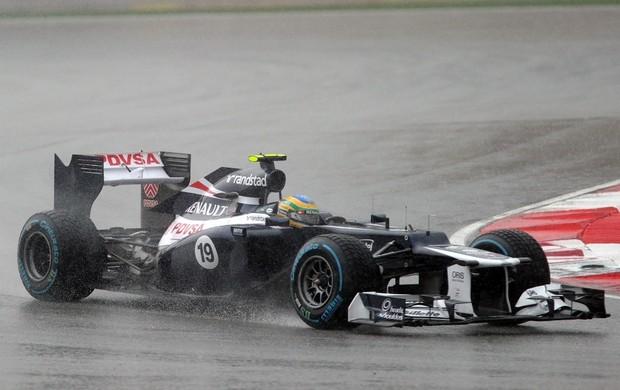 Bruno Senna conseguiu bela recuperação na Malásia (Foto: AFP)