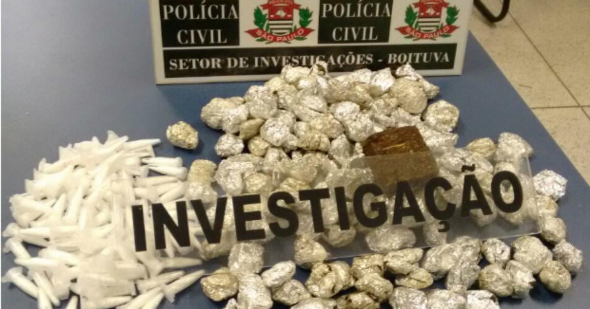 Vizinhos são presos por tráfico de drogas em Boituva - Globo.com