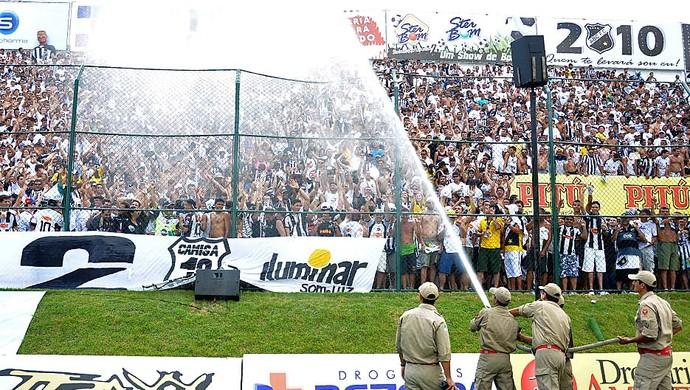 ABC 100 anos -  ABC 3 x 1 Águia de Marabá - Estádio Frasqueirão - ABC campeão brasileiro Série C 2010 (Foto: Frankie Marcone)