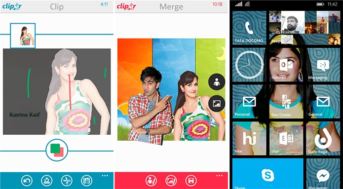 Clipr é capaz de fazer diversas montagens de forma intuitiva no seu Windows Phone (Foto: Divulgação/Windows Phone Store)