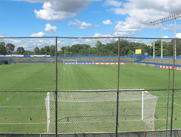 estádio Nicolas Leoz no Paraguai (Foto: Marcelo Prado / GLOBOESPORTE.COM)