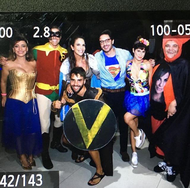 Suzana Pires, Reynaldo Gianecchini, Ivete, Ricardo Tozzi, Fernanda Paes Leme e Gominho (Foto: Reprodução Instagram)