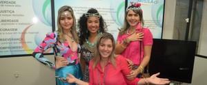 Apresentadora do Amazônia Revista dá dicas para o Carnaval no Acre TV; confira (Murilo Lima)