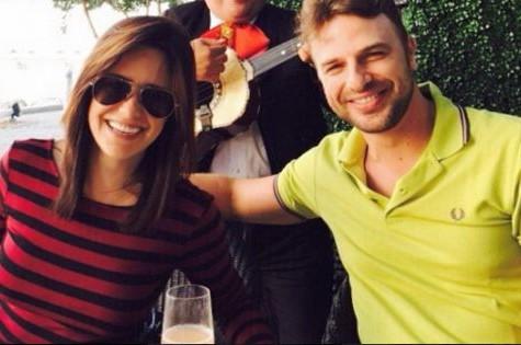Fernanda Vasconcellos e Cássio Reis (Foto: Reprodução)
