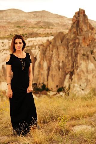 Cleo Pires está na Capadocia para gravar cenas de Salve Jorge (Foto: TV Globo / João Miguel Júnior)