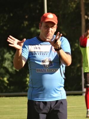 Raul Cabral Tombense técnico 2016 (Foto: Bruno Ribeiro)