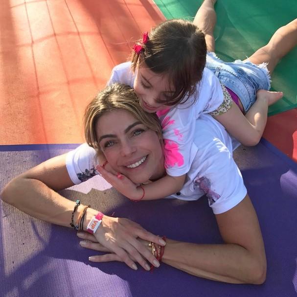 Daniela Cicarelli e sua filha, Ana Beatriz, de 4 anos (Foto: Reprodução Instagram)