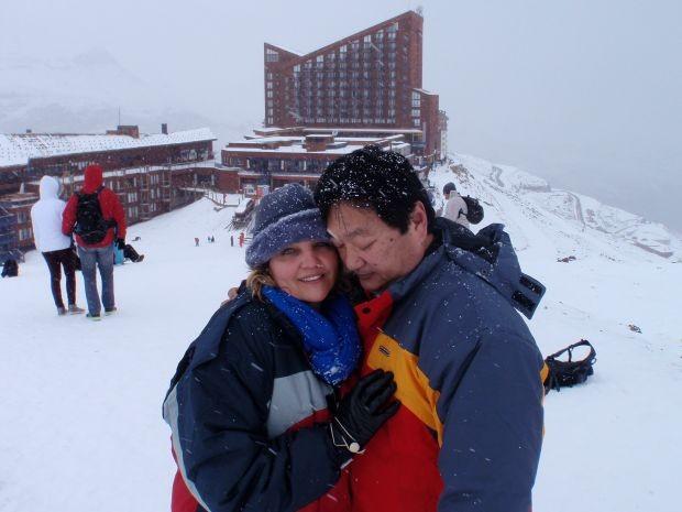Casal se conheceu há 29 anos (Foto: Peter Moroshima / Arquivo Pessoal)