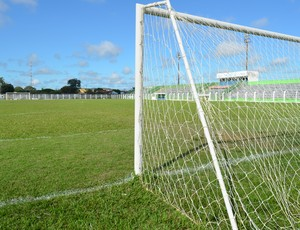 Estádio Gentil Valério, em Ariquemes (Foto: Eliete Marques)