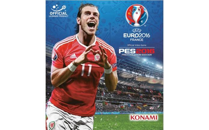 Gareth Bale é capa de UEFA EURO 2016 (Foto  Divulgação Konami) b96366926b59f