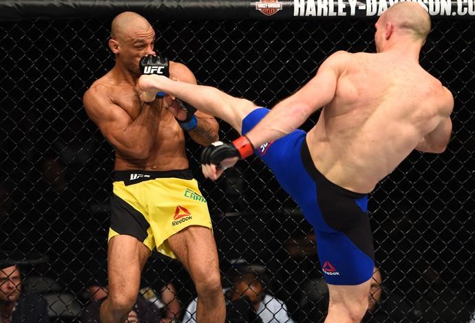 Ryan LaFlare e Roan Jucão UFC 208 (Foto: Getty Images)