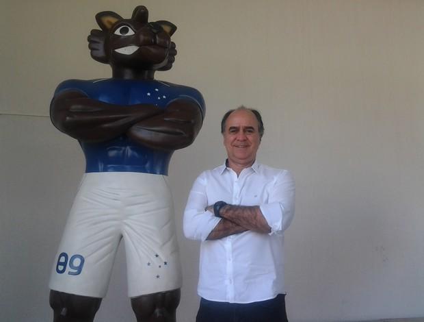 Marcelo Oliveira; Raposão; Toca da Raposa II; Cruzeiro (Foto: Globoesporte.com)