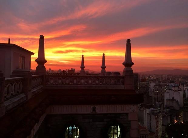 Vista do Edifício Martinelli (Foto: Reprodução / Facebook)