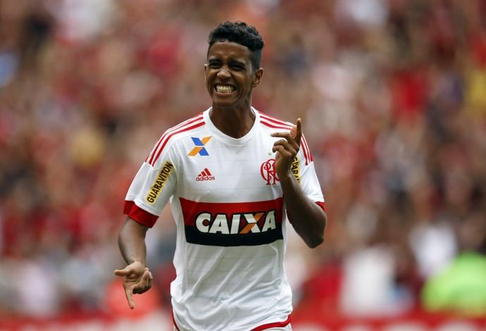 Gabriel Flamengo x Joinville (Foto: André Durão / GloboEsporte.com)