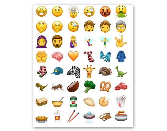 Novos emojis chegam em junho de 2016 (Foto: Reprodução/Emojipedia)