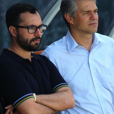 Mario Bittencourt e Peter Siemsen Fluminense (Foto: Nelson Perez/Fluminense FC)