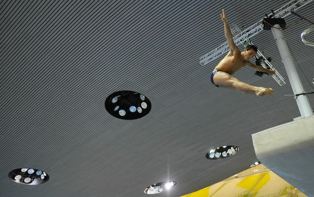 Tom Daley saltos ornamentais Londres (Foto: Getty Images)