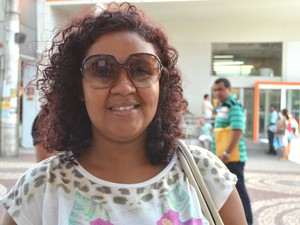 Podóloga voltou para Aracaju após dez anos longe (Foto: Marina Fontenele/G1)