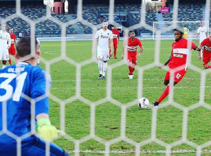 Luiz Adriano Spartak Moscou (Foto: Divulgação/Site oficial do Spartak)
